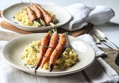 Rosemary Roasted Carrots and Rutabaga Puree - Dishing Up the Dirt