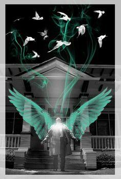 Castiel fan art / Supernatural / Misha Collins ❤