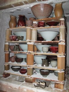 Results gas firing shared kiln with Christo Giles