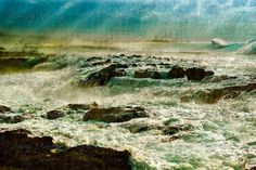 Surreal Ocean Photo Art by SensingMajesty. Large format 24x16/$61.44. Other Sizes - 18x12 and 15x10. Set of 7x5 greeting cards.