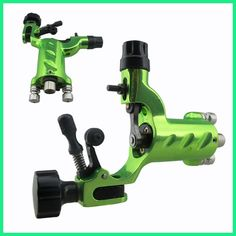 Green Dragonfly Rotary Tattoo Machine Shader Liner clip cord Professional Tatoo Motor Gun Kits for Artists maquinas de tatuajes