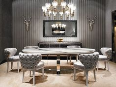 Beautiful Dining Tables Ideas To Redecorate Your House This Fall   www.bocadolobo.com #interiordesign #exclusivedesign #interiordesigners #roomdesign #prodctdesign #luxurybrands #luxury #luxurious #homedecorideas #housedecor #designtrends #design #luxuryfurniture #furniture #modernfurniture #designinspirations #decoration #interiors #bestinteriors #diningtables #tables #moderndiningtables #luxurydiningtables #wooddiningtables #stonediningtables #outdoors #diningroom #thediningroom…