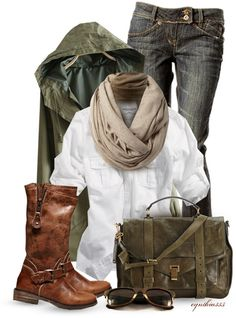 jacket, jean, fall fashions, color, bag, rainy day outfits, fall outfits, brown boots, cold weather