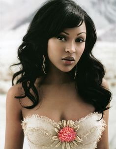 Meagan Good~~~~I would KILL for those lips!! <3