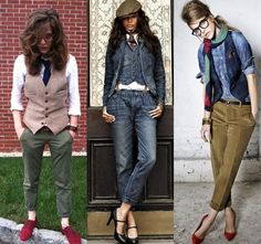 casual tomboy style
