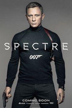 Voici l'affiche officielle du nouveau #JamesBond #007Spectre ! Regard charmeur de Daniel Craig en ligne de mire !