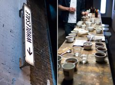 Cupping at Ozone Coffee Roasters, London, UK
