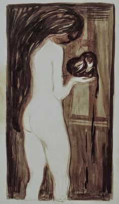 Edvard MunchThe Woman and the Heart1896