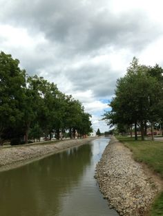 The Miami & Erie Canal, New Bremen, Ohio.