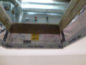 Bodentreppe Einbau 03: Luftdichte Schicht sauber abschließen.