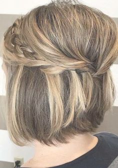 54 Stunning Short to Medium Wedding Haircuts in Looking for romantic ideas of wedding hair to wear on your big day? We have compiled here the in. Trending Hairstyles, Loose Hairstyles, Bride Hairstyles, Scarf Hairstyles, Short Hair Updo, Short Wedding Hair, Wedding Hairstyle, Easy Hairstyle, Hairstyle Ideas