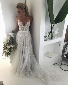 Pretty obsessed with this dress 🌙 Introducing T O B Y to the collection ✨ Venue Day Dresses, Wedding Dresses, Wedding Inspiration, Style Inspiration, Wedding Ideas, How Beautiful, Bridal Makeup, Dream Dress, Wedding Planning