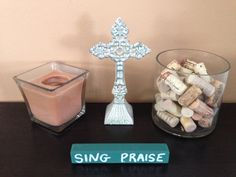 SING PRAISE - wood art - home decor etsy.com.shop/ShareHisBlessings  Thanks for viewing my work! I can customize all my projects to fit your style. Let me know if you are looking for a certain color, size or phrase – I'd be happy to make it just for you! Stay Blessed..