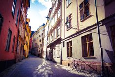 A day in Stockholm
