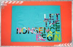 DIY Canvas Quote & Decorative Letters