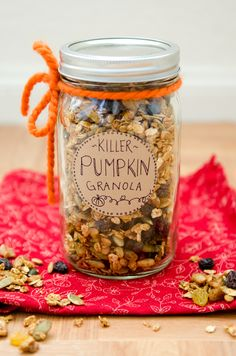 Killer Pumpkin Granola