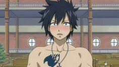 Is he thinking about Juvia? Fairy Tail Gray, Fairy Tail Love, Fairy Tail Ships, Anime Fairy Tail, Fairy Tail Gruvia, Otaku, Fairy Tail Characters, Anime Characters, Cute Anime Boy