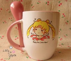 Sailor Moon Kawaii Mugs