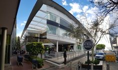 Shopping at Rosebank with glass facade upgrades to the Zone. Architectural Services, Glass Facades, Civil Engineering, Lodges, Waterfall, Retail, Mansions, Architecture, House Styles