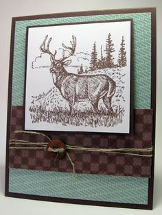 stamping up north: Stampin Up Noble Deer