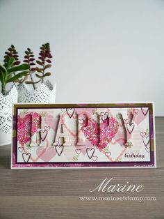 Totally Technique Friday - January 2018 - Eclipse technique - Stampin'Up!® par Marine