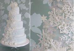 ultra wedding cakes | Snowflake-wedding-cake-by-Makis-Cakes.jpg