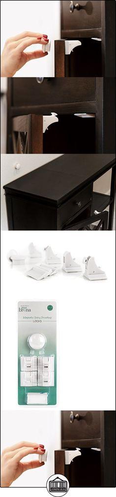 Bebé Seguridad Magnético armario Locks-seguro gabinetes y cajones-sin necesidad de herramientas Talla:4 Locks & 1 Key  ✿ Seguridad para tu bebé - (Protege a tus hijos) ✿ ▬► Ver oferta: http://comprar.io/goto/B01LFPECDY