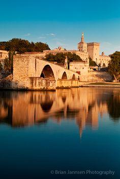 pont-d-avignon. France