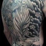 Tiger backpiece by Tim Hendricks