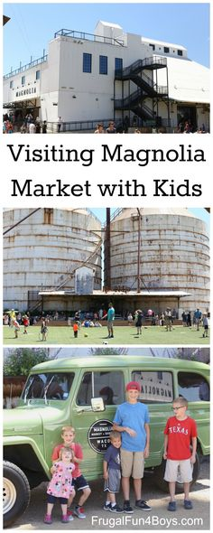 Tips for a Successful Visit to Magnolia Market with Kids!