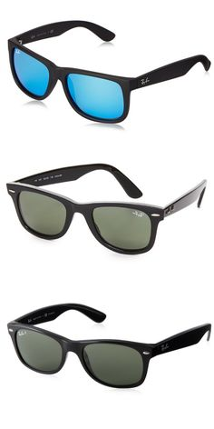 f9f8115f7d Ray-Ban RB4165 601 8G Matte Black Justin Wayfarer Sunglasses Lens Category  3 Si  Ray-Ban  Amazon.co.uk  Clothing