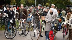 Tartan and Tweed bicycle tour just in time for St Patty's Day