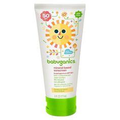 Babyganics Mineral-Based Baby Sunscreen Lotion, SPF 50