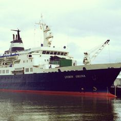 """Con ratas como únicos pasajeros, el """"Lyubov Orlova"""", barco de crucero ruso en ruinas, deriva desde hace casi un mes en el norte del Atlántico, probablemente hacia las costas europeas, a falta de policía internacional capaz de intervenir en el caso. #instagrammilenio Foto: AFP"""