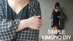 Thrifted Revamp Ep. 1 - DIY Kimono from a men's shirt // ItsJMomo