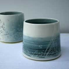 For once I managed to allow some time to photograph some new work before selling or sending it off. I took some time to read over the late Sussie Ahlberg's book Photograph Your Own Art & Craft and it really helped - although I definitely need to get a tripod as there's so little daylight up here at this time of year. #pottery #ceramics #photography #maker #studio #clay #slipware #stoneware #handmadeinscotland #handmade #yunomi #beaker #tumbler #wheelthrown