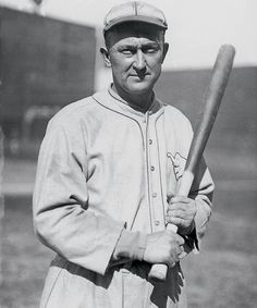 Today in 1905 - will be baseball legend Ty Cobb appeared in his first major-league baseball game. He played for the Detroit Tigers. Baseball Records, Baseball Posters, Baseball Photos, Philadelphia Athletics, Batting Average, The Outfield, Detroit Tigers, Major League, Mlb