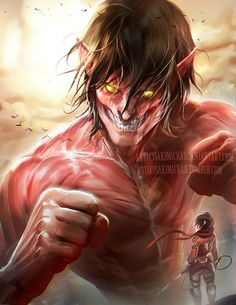 I wanted to draw something different and since I really enjoyed reading attack on titan manga I decided to draw the titan!Hope you guys like! This was a good piece to practice muscle anatomy XD    PSD,Video process, High res of this piece and others will be made available through ►https://www.patreon.com/creation?hid=1517242&rf=371321◄ for bi-weekly fee: ) ♦goodie archive♦
