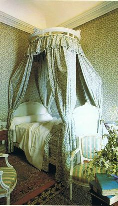 Provence bedroom
