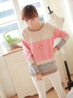 2f6db9a37f6 Sweet Japanese knitting sweater coat -click the link for more cute looks  and use this