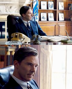 Black Mass. Goddammit stop being so gorgeous<--Sherlock is dressing up as Mycroft for Halloween
