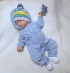 Baby knitted jumpsuit Knitted baby clothes Baby knitted romper Hand knit baby set Baby boy knitted home coming outfit newborn knit outfits Baby gestrickter blauer Overall Gestrickte Babykleidung Baby gestrickt Baby Knitting Patterns, Baby Patterns, Hand Knitting, Kids Knitting, Knitted Baby Clothes, Knitted Romper, Baby Outfits, Baby Set, Baby Overall