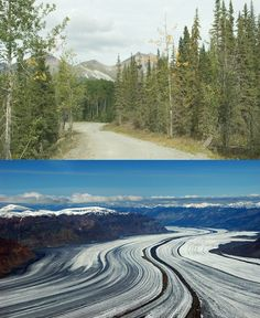 Wrangell-St Elias National Park is a crazy and extreme 13 million acre terrain, with glaciers and volcanoes dominating the landscape.