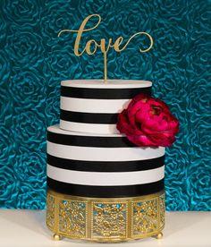 Romantic Love Wedding Cake Topper