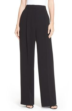 Theory 'Adamaris' High Waist Wide Leg Pants available at #Nordstrom