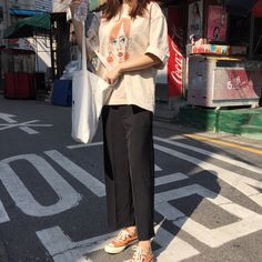 Spring and summer fashion women's high waist was thin black pants pants straight wide leg pants loose wild pants trousers
