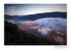 la brume tombe sur Foix hiver 2012-2013