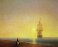 Morning at Sea  - Ivan Aivazovsky 1849