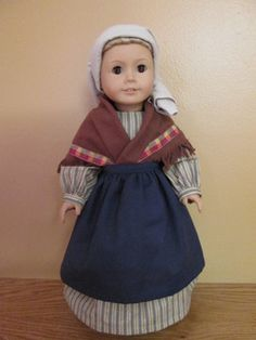 Bernadette Peasant Catholic Doll Clothes for dolls - American Girl Doll - Costume