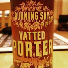 Nice chocolate bitterness. - Drinking a Vatted Porter by Burning Sky Brewery